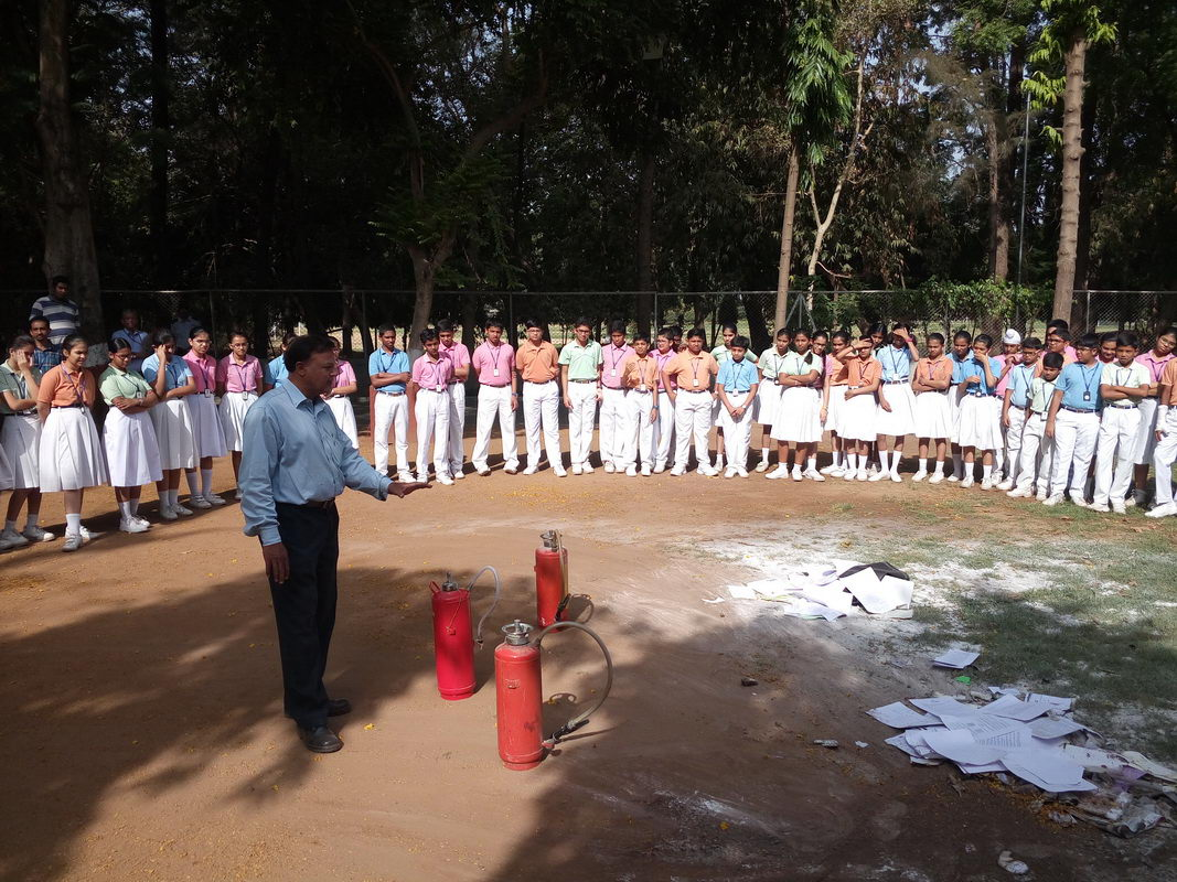 Fire Extinguisher Demonstration