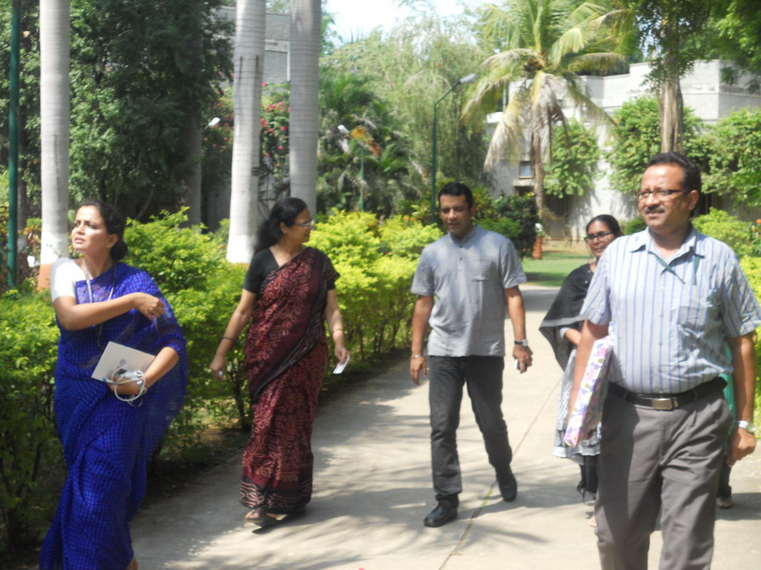 Visit of Mr. Anshu Gupta <br> (Magsaysay Award Winner)